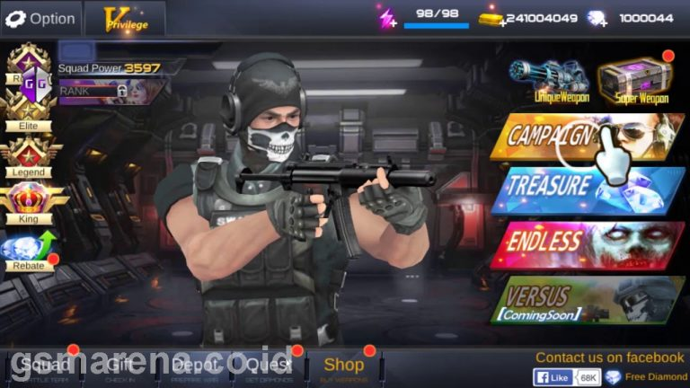 gun war shooting games